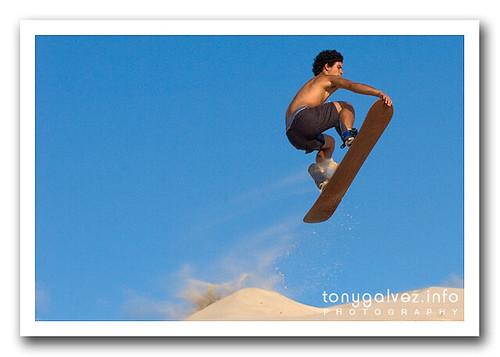 sandboarding, dunas da Joaquina