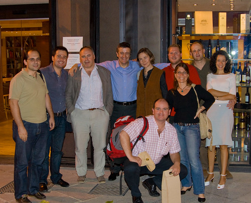 Bloggers Dinner at Enopata in Valencia