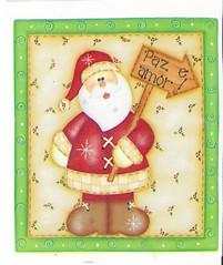 Papai Noel (Lucia Helena Cesar) Tags: christmas natal noel papai riscos moldes patchcolagem apliquee