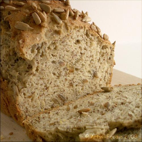 Flaxseed GF bread