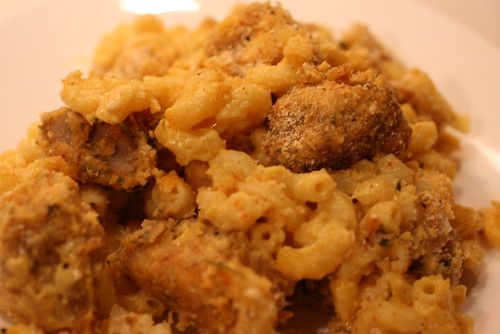Fried Chicken Mac & Cheese