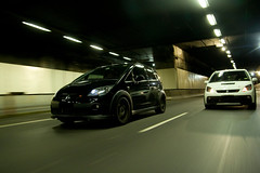 _MG_5999 (tomsstudio) Tags: car night tunnel automotive rig motor colt carrig mitsubisshi coltralliart