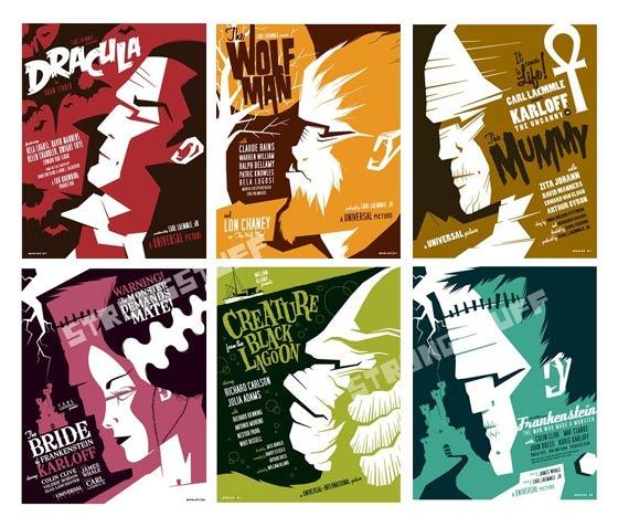 posters de monstruos
