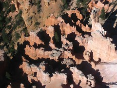 Helicopter flight over Bryce Canyon (sixthland) Tags: red usa utah sandstone iron flight helicopter sulphur layers brycecanyon manganese canong7