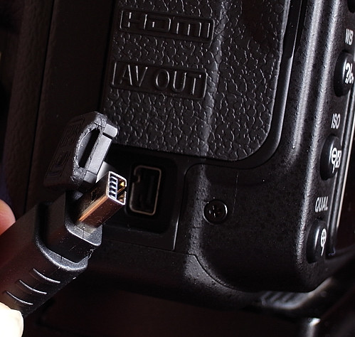 The new remote port on the Nikon D90 cannot accommodate Nikon MC-DC1, Phottix Cleon N6 and compatible connectors -- R0010354