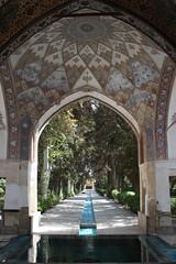 Fin Garden, Kashan, Iran (Rowan Castle) Tags: travel water pool gardens persian spring iran persia dome 2008 kashan fingarden img4189 coolestphotographers