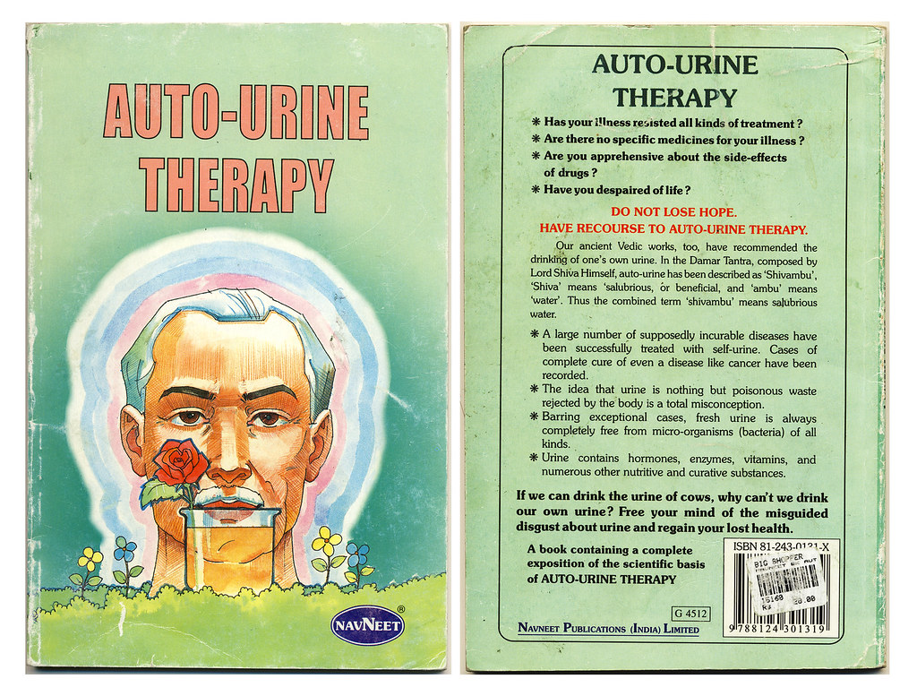 Medicine Bowl Auto Urine Therapy Might Cure Herpes And Cancer