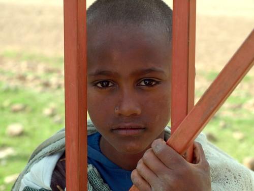 Niño en Axum