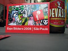 EXS 08 @ SP : abertura / opening (Expo Stickers) Tags: streetart stickerart sopaulo eastpak exs08 expostickers2008