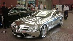 Chrome SLR in Dubai 56 (carbeedpict) Tags: slr chromed