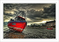 Red boats x 2 (flickrzak) Tags: boat lancashire explore wwb redboats sunderlandpoint riverlune flickrsbest betterthangood samyork azofdigitalediting damniwishidtakenthat lr205 naturescreations artistictreasurechest