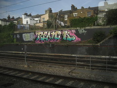 Hoover - Revok MSK (Tatty Seaside Town) Tags: graffiti graf hoover msk revok trackside willesden northlondon tattyseasidetown kingsofgraff