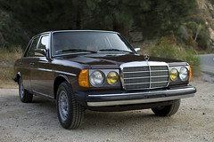 1984 Mercedes-Benz 300D Turbo Diesel (mercedesmotoring) Tags: auto brown classic car vintage mercedes benz 300d diesel low 123 turbo 1984 miles chassis pristine palomino manganese mbtex