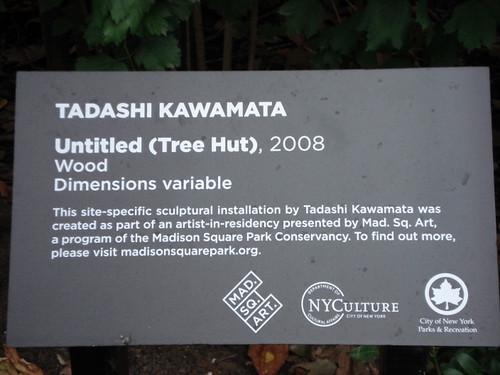 Tadashi Kawamata Tree Hut