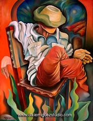 Guajiro cuban art painting Miguez (Miguez Cuban Art) Tags: art painting artist bongo cuba paintings cuban dixie gallos cubano guajiro miguez cubanart cubanpaintings cubanartforsale cubanfineart cubanartistis