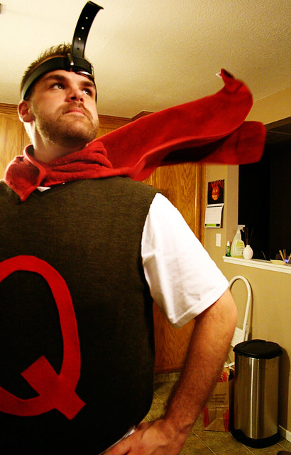 Thrifty Holidays: 14 DIY Costume Ideas Quailman Costume
