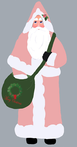 Santa-Best-Pink