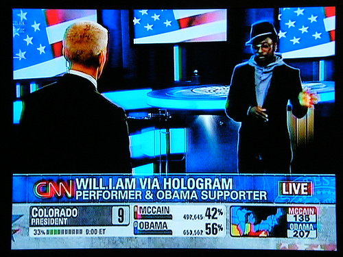 Wil.i.am on CNN via hologram