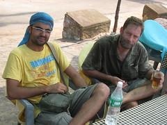 Javier and Ralph - Varkala, Kerela