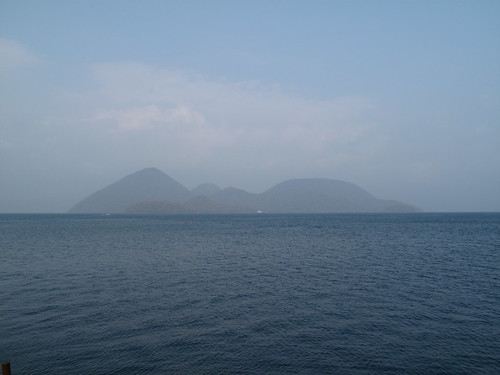 Islands on Lake Toya