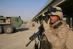 080922-M-8591-001 (1st Marine Logistics Group) Tags: marine iraq security m16 ramadi 1mlg 9thesb 1stmarinelogisticsgroup tylerbarstow lukedoty