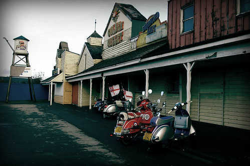 Scooters at Frontierland