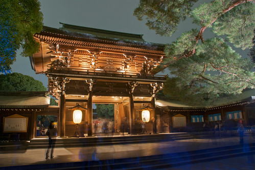 Meiji Jingu Lightened 15