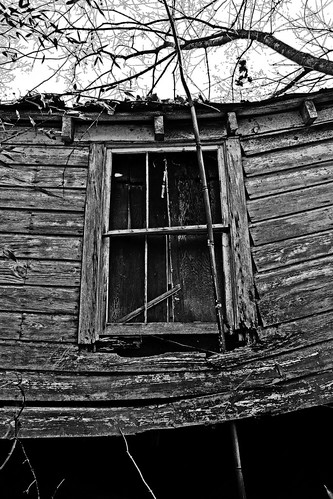 Barred Window - IMG_0734_B&W