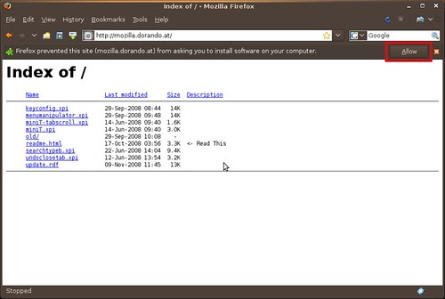 Screenshot-Index of - - Mozilla Firefox