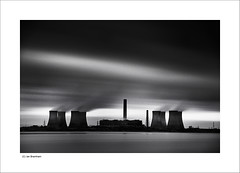 Fiddler's Ferry Power Station (Ian Bramham) Tags: longexposure bw industry station liverpool photo nikon energy power very explore filter nd merseyside fiddlersferry d40 nikond40 ianbramham