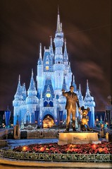 Disney - Partners With Castle Dream Lights - 7X HDR (Explored)