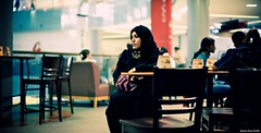 Where's my coffee? (Stephan Geyer) Tags: woman canon 50mm dubai uae explore starbucks 5d canon5d local 5014 emirati nationaldress ef50mmf14usm canoneos5d explored 6milliondollarteam canon5dclassic