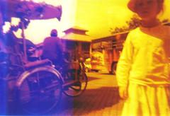 ::lomolitos blue::lsi redscale film::malacca, malaysia:: (keriangandunia) Tags: film da ba dee melaka malacca biru pelitos redscale lomolitosblue