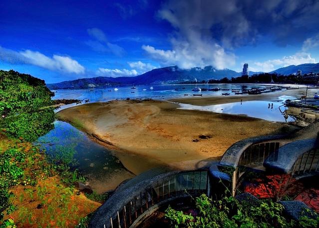Patong Beach in HDR – Phuket