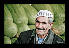 The Watermelon Seller (17may) Tags: life old city photoshop canon eos rebel photo arabic watermelon arab adobe kuwait seller  17may q8 lightroom ksa arabs the         kuw    xti 400d   aplusphoto