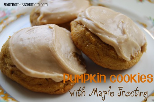 pumpkin cookies with maple frosting - Page 202