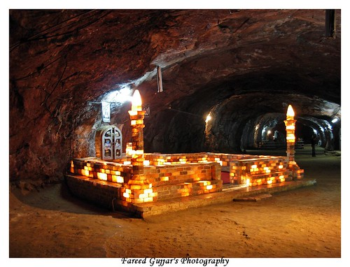 Mosque of khewra Salt Mine