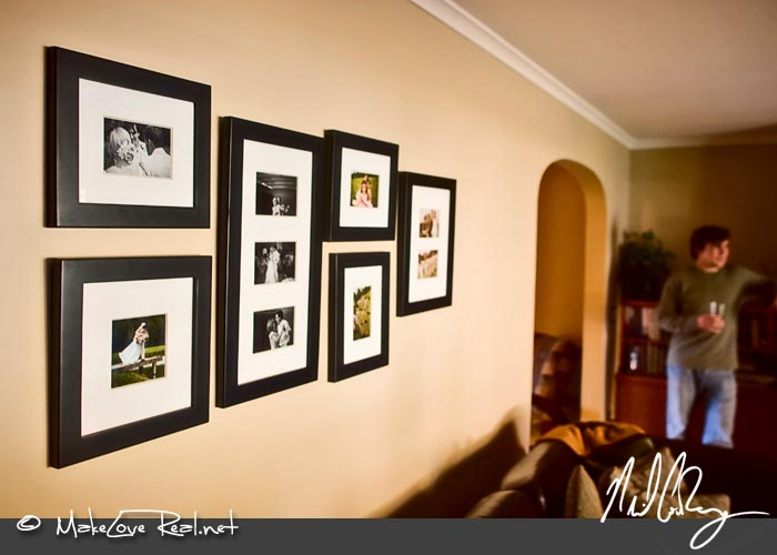 Wedding Photo Wall Frames Wedding Photo Wall Display