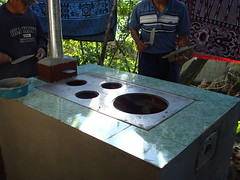 Finishing the wood burning stove