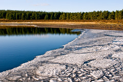 Bonaly Reservoir, Edinburgh (Surely Not) Tags: trees ice water scotland frozen nikon edinburgh reservoir hills pentland d300 bonaly yourphototips