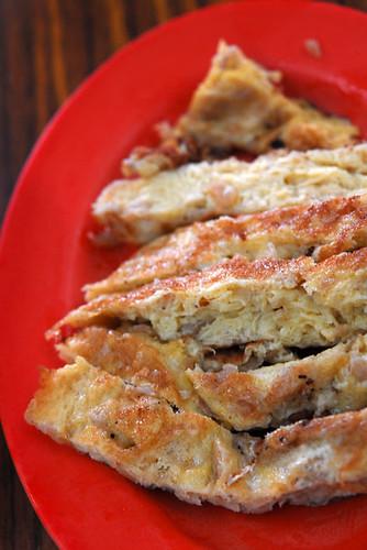 Preserved radish Omelette - DSC_8972