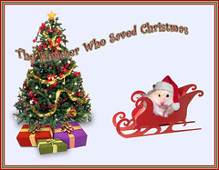 Pirko is not Grinch! - by MISSYKIM (pyza*) Tags: christmas xmas pet cute animal rodent critter hamster hammie pirko chomik missykim