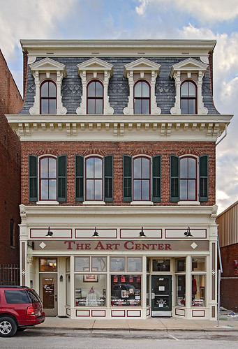 Downtown Washington, Missouri, USA - The Art Center