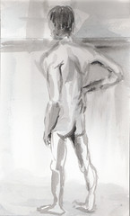 Life Drawing 2009-12-16_05