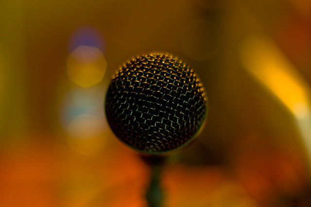 Microphone Pic Courtesy of Tranchis on Flickr