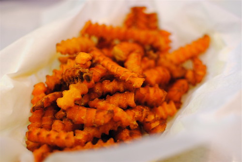 crinkle cut sweet potato fries