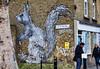 Roa Squirrel - Brick Lane (mickyh2011) Tags: streetart graffiti bricklane e1 roa clubrow bricklanestreetart