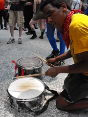 Drummer Boy (softjunebreeze) Tags: chicago downtown african michiganave american drummer womensrights equalrights daleyplaza antirape sexpositive womensempowerment slutwalk