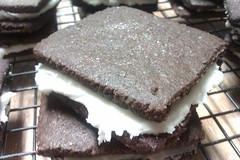 Chocolate Graham Cracker Cookie Sandwich