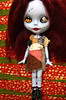 Full front view of miss Sally (*phillaine*) Tags: doll sally mohair blythe patchwork custom pure takara ragdoll nightmarebeforechristmas neemo sadi reroot flection phillaine